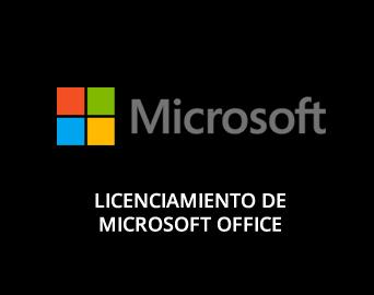 Licenciamiento de Microsoft Office